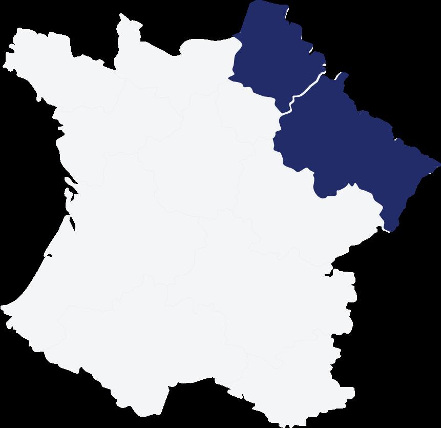 Régions où An Avel Braz est présente